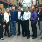 Les Emballages Ralik reçoit le prix remis par SCA Tissue North America – Distributeur de l'année 2011